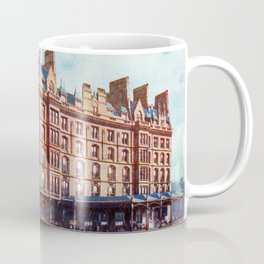 Vintage St Enoch railway station hotel Glasgow Coffee Mug