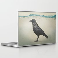 band Laptop & iPad Skins featuring Raven Band by Vin Zzep