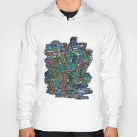 concrete Hoodies featuring Concrete Jungle  by AdrianWest