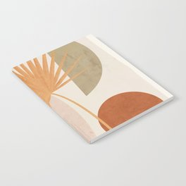 Tropical Leaf- Abstract Art 49a Notebook