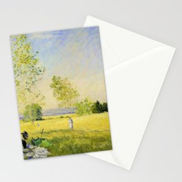 Claude Monet - Summer - Digital Remastered Edition Stationery Cards