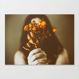 Sin flores para ti II Canvas Print