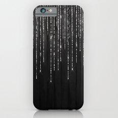 Fairy Lights on Wood 02 iPhone 6s Slim Case