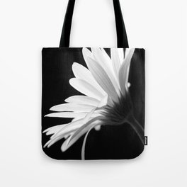 Flower BW Tote Bag