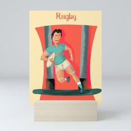 Rugby Mini Art Print