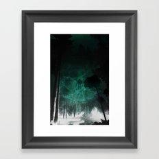 Faraway Places Framed Art Print