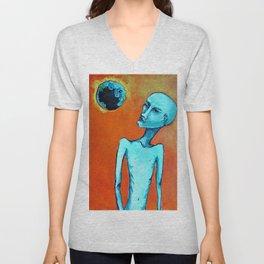 Planetary Scope Unisex V-Neck