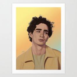 robert sheehan Art Print