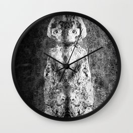 Watercolor Anthropomorphism 05, The Owl Wall Clock