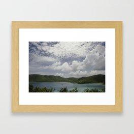 Maho Bay, St John - 2010 Framed Art Print