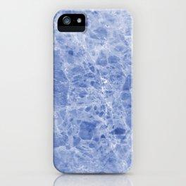 Juliette blue marble iPhone Case