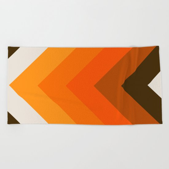 Golden Thick Angle Beach Towel