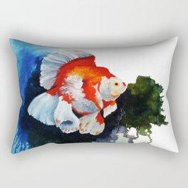 Ryukin Goldfish Rectangular Pillow