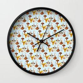 Mushroom Skin Wall Clock