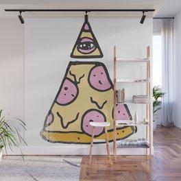 ILLUMINATI PIZZA Wall Mural