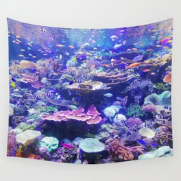 School Of Fish Wall Tapestry