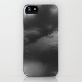 Summer Night Sky (Gray) iPhone Case