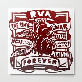 RVA Forever Metal Print