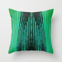 ikat Throw Pillows featuring IKAT IKAT by SHERYLCOLOUR