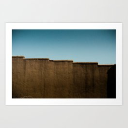 Running on Rooftops Art Print