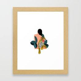 Compassion hurts Framed Art Print