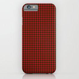 Chisholm Tartan iPhone Case