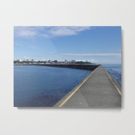 Ogden Point Breakwater, Victoria B.C. Metal Print