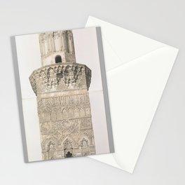 Minaret, Mohammed el Naçer Mosque, Kaire (lower and upper part) ,1843 Stationery Cards