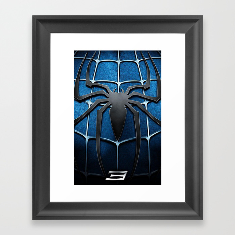 Spidy, Spider, Spider Man, Spider Man 3, Amazing S… Framed Art Print by Yudishop FRM8318364