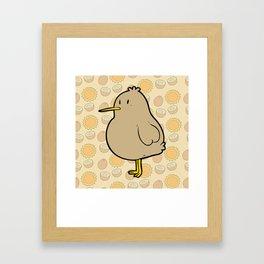 Little Kiwi Framed Art Print