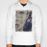 geisha Hoodies featuring Geisha by Michael Creese