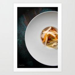 The Art of Food Pasta Heaven Art Print