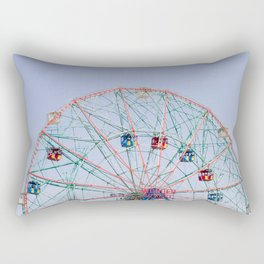 The Wonder Wheel Rectangular Pillow