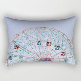 The Wonder Wheel Rectangular Pillow