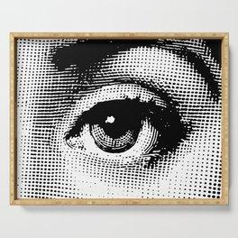 Lina Cavalieri - left eye Serving Tray