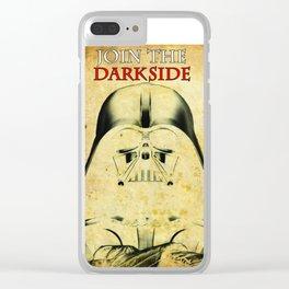 Darth Vader design Clear iPhone Case