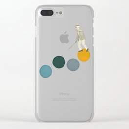 Tap Dancing Clear iPhone Case