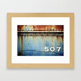 507 Framed Art Print