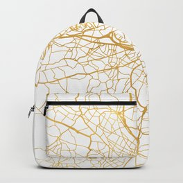BOSTON MASSACHUSETTS CITY STREET MAP ART Backpack