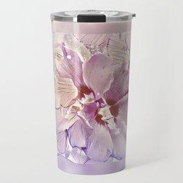 Delicate Floral Travel Mug
