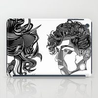 danny haas iPad Cases featuring Danny by Alastair Vanes