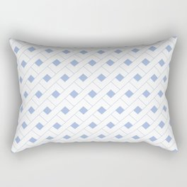 Geometric Serenity  Rectangular Pillow