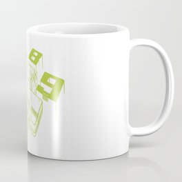 TurboGrafx-16 Line Art Console Coffee Mug