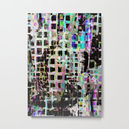 Crazed Neighbourhood Metal Print