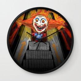 Sick Again - Scary Clown Wall Clock