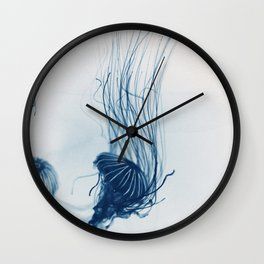 Deep Blue Sea #3 Wall Clock
