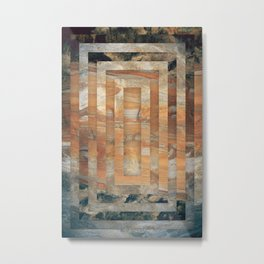 Cave abstraction Metal Print
