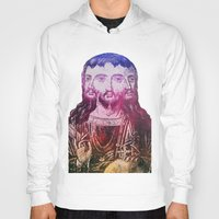 christ Hoodies featuring Thrice Christ by EclecticArtistACS