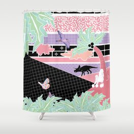 Existence Is Futile Shower Curtain