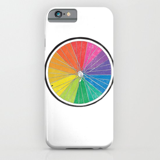Color Wheel (Society6 Edition) iPhone & iPod Case